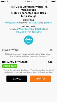 The Courier App | From APCURIUM: Mobile Apps Developer