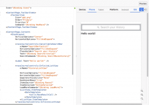 Xamarin.Forms Previewer